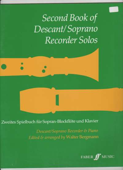 photo of Second Book of Descant Recorder Solos
