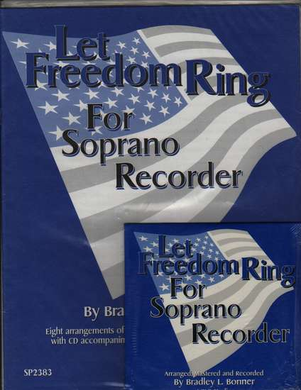 photo of Let Freedom Ring, Score and CD
