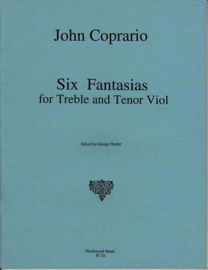 photo of Six Fantasias for Treble and Tenor Viol