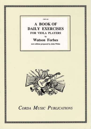 photo of A Book of Daily Exercises for Viola Players