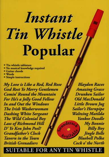 photo of Instant Tin Whistle, Popular Melodies