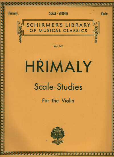 photo of Scale-Studies for the Violin