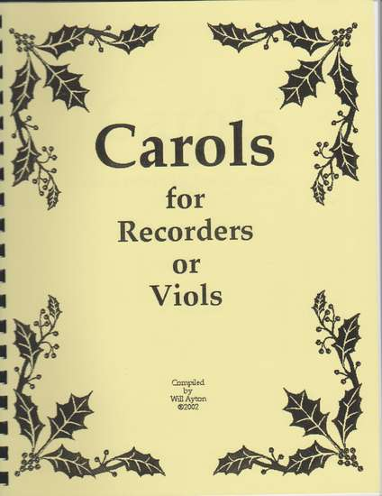 photo of Carols for Recorders or Viols