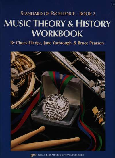 photo of Standard of Excellence, Book 2, Music Theory & History Workbook