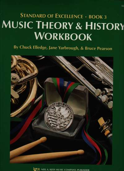 photo of Standard of Excellence, Book 3, Music Theory & History Workbook