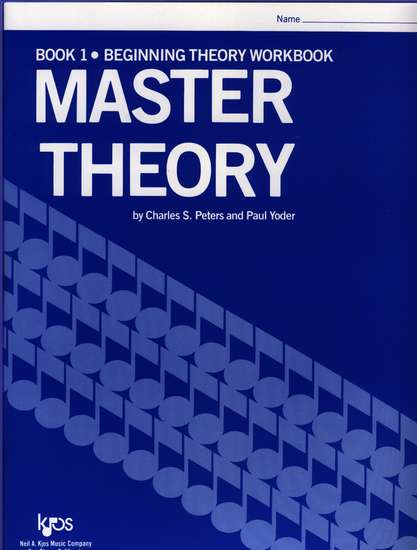 photo of Master Theory, Book 1, Beginning Theory Workbook