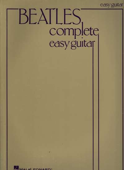 photo of Beatles Complete easy guitar