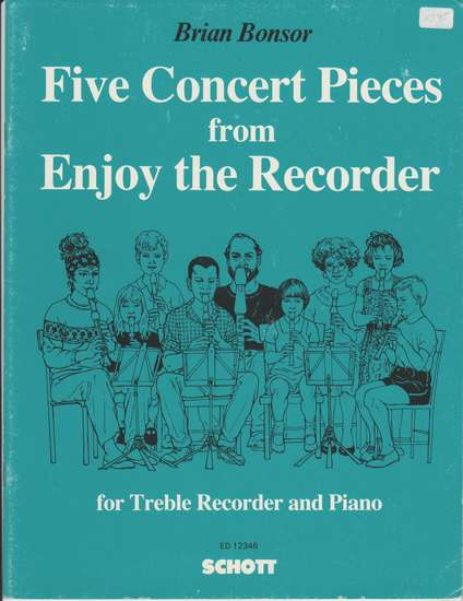 photo of Five Concert Pieces from Enjoy the Recorder