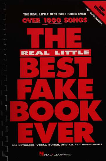 photo of Real Little Best Fake Book Ever, 3rd ed., over 1000 songs