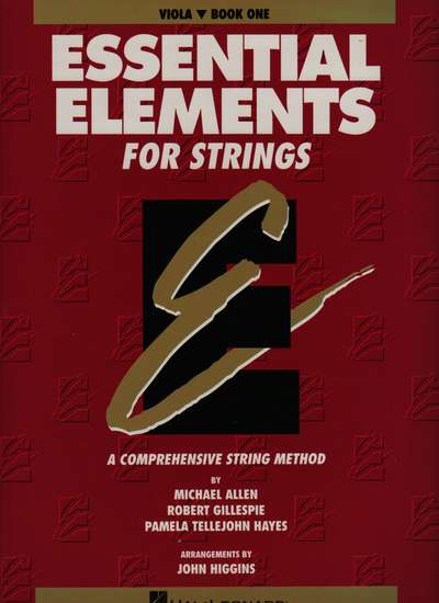 photo of Essential Elements for Strings, Book 1, Viola