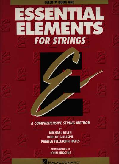 photo of Essential Elements for Strings, Book 1, Cello