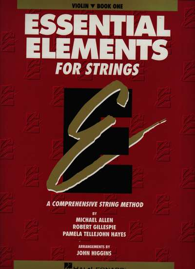 photo of Essential Elements for Strings, Book 1, Violin