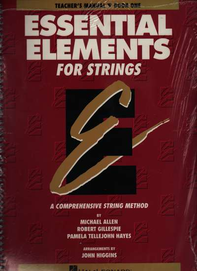photo of Essential Elements for Strings, Book 1, Teacher
