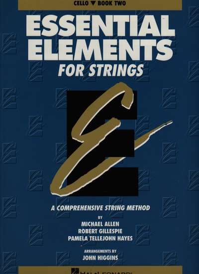photo of Essential Elements for Strings, Book 2, Cello