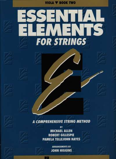 photo of Essential Elements for Strings, Book 2, Viola