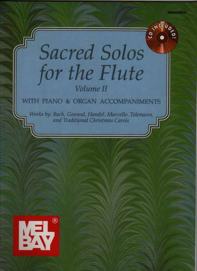 photo of Sacred Solos for the Flute, Vol. II