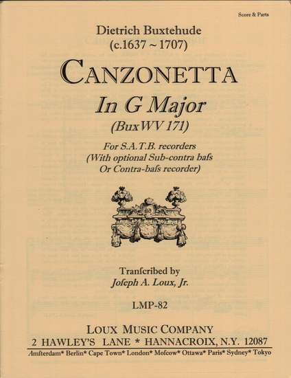 photo of Canzonette in G Major