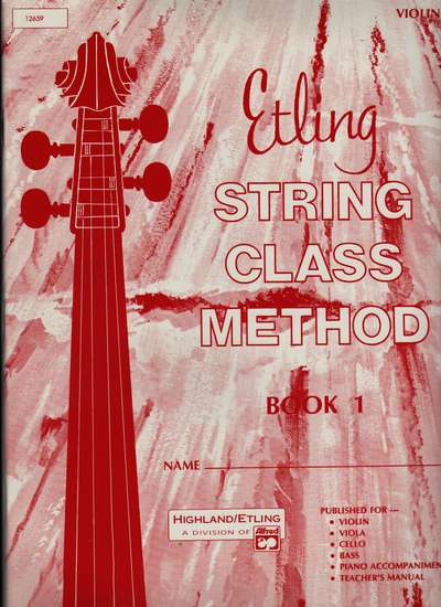 photo of String Class Method, Book 1 Violin