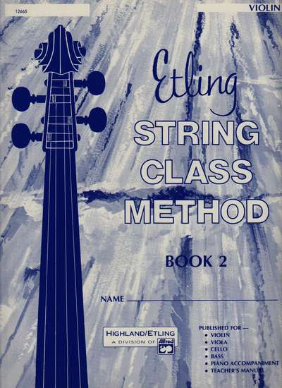 photo of String Class Method, Book 2 Violin