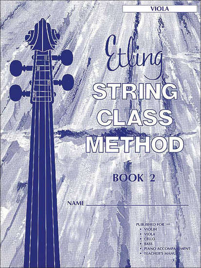 photo of String Class Method, Book 2 Viola