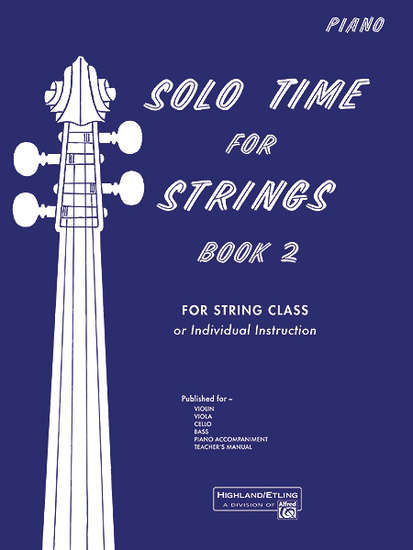 photo of Solo Time for Strings, Book 2, Piano