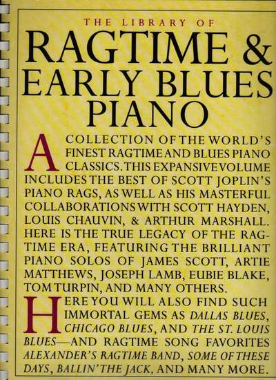 photo of Ragtine & Early Blues Piano