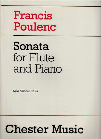 photo of Sonata for Flute and Piano