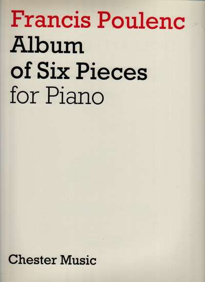photo of Album of Six Pieces for Piano
