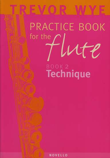 photo of Practice Book for the Flute, Book 2, Technique