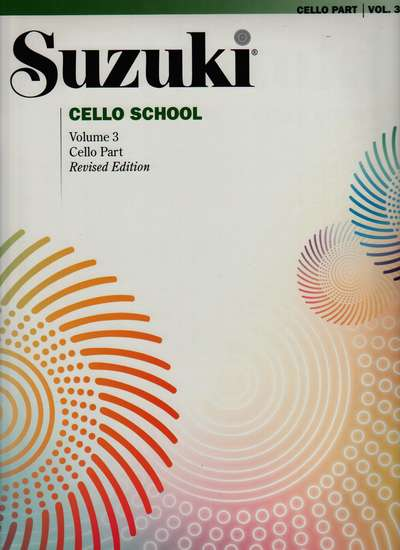 photo of Suzuki Cello School, Vol. 3, 1992