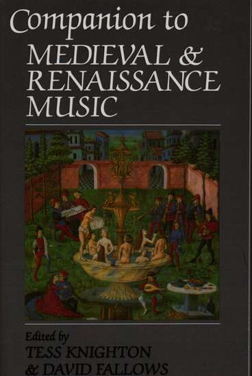 photo of Companion to Medieval & Renaissance Music