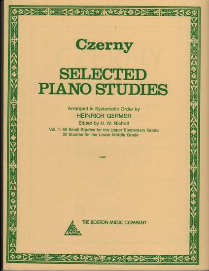 photo of Selected Piano Studies