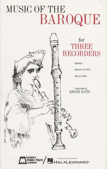 photo of Music of the Baroque for Three Recorders
