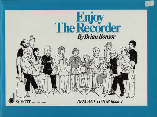 photo of Enjoy the Recorder, Descant Tutor, Book 2