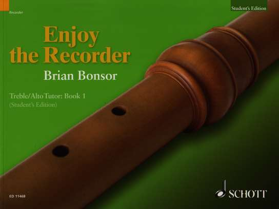 photo of Enjoy the Recorder, Treble Tutor, Book 1