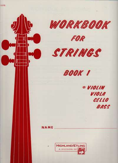 photo of Workbook for Strings, Book 1, Violin