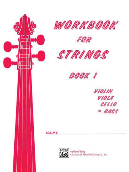 photo of Workbook for Strings, Book 1, Bass