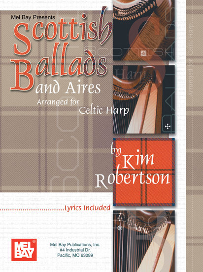 photo of Scottish Ballads and Aires for Celtic Harp