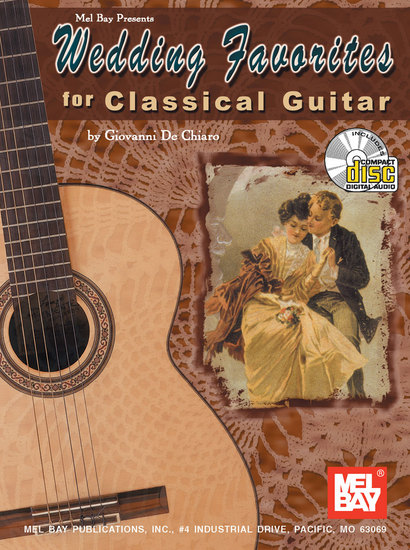 photo of Wedding Favorites for Classical Guitar