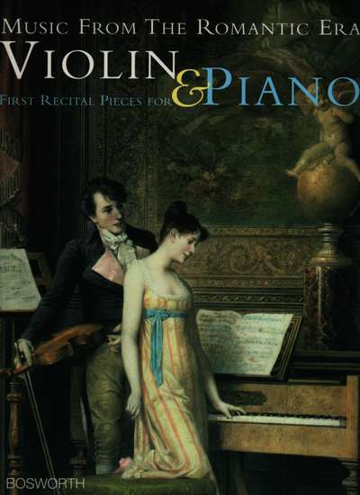 photo of Music from the Romantic Era, Violin & Piano, First Recital Pieces