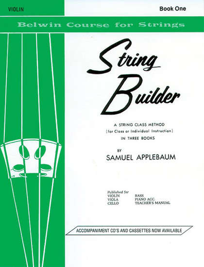 photo of String Builder, Violin, Book One