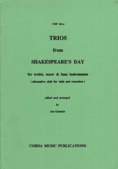 photo of Trios from Shakespeare