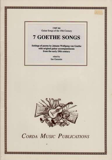 photo of 7 Goethe Songs, Settings of poems by Goethe
