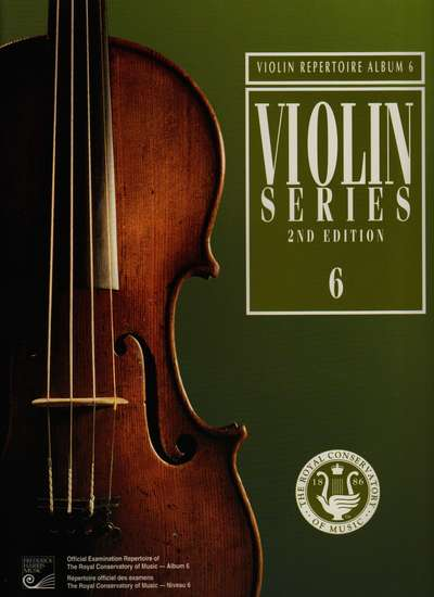 photo of Violin Series, 2nd Edition, Album 6