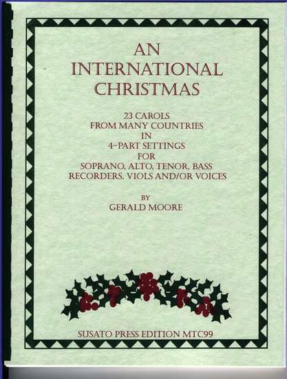 photo of An International Christmas, 23 Carols from many countries