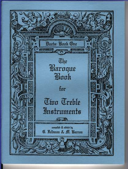 photo of The Baroque Book for Two Treble Instruments