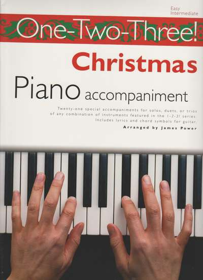 photo of One-Two-Three! Christmas Piano accompaniment