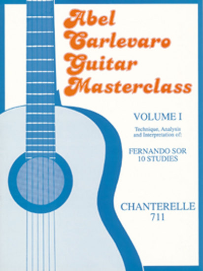 photo of Abel Carlevaro Guitar Masterclass, Vol. I,  Sor 10 Studies