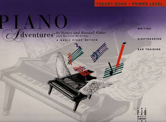 photo of Piano Adventures, Theory Book, Primer Level, First edition 1993