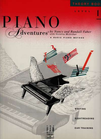photo of Piano Adventures, Theory Book, Level 1, 1993 edition